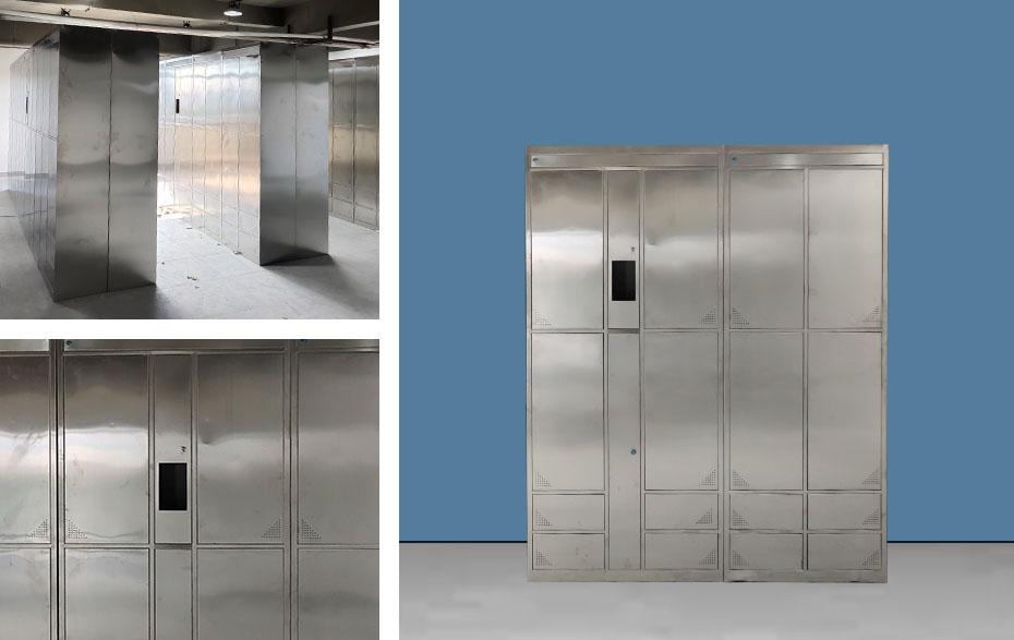 不锈钢智能更衣柜定制厂家