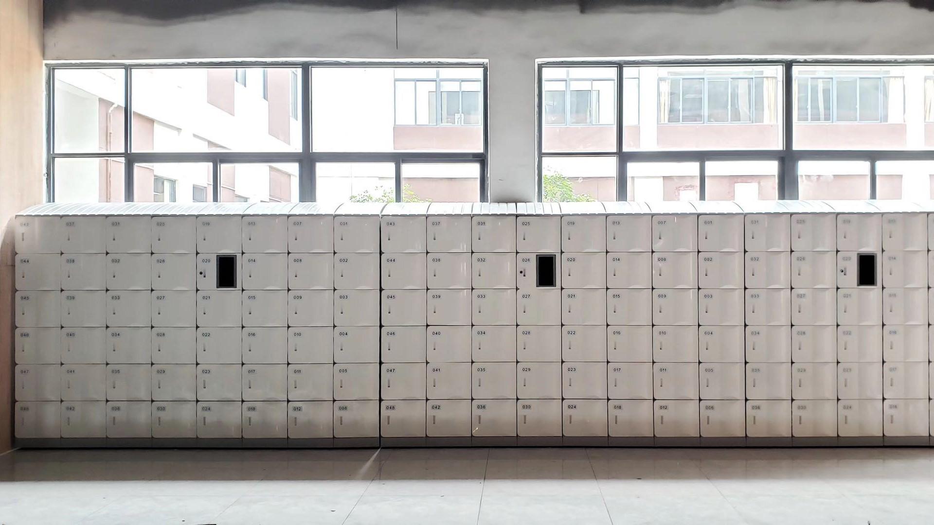 智能ABS联网刷卡柜