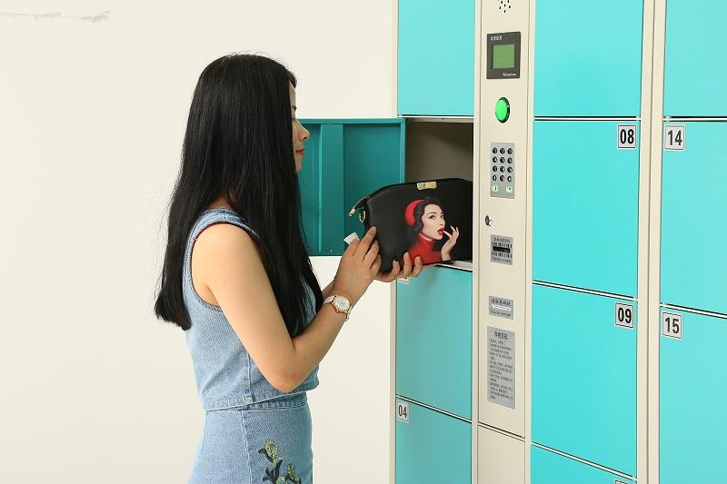 嘉易特分享几种不同类型的电子寄存柜使用方法