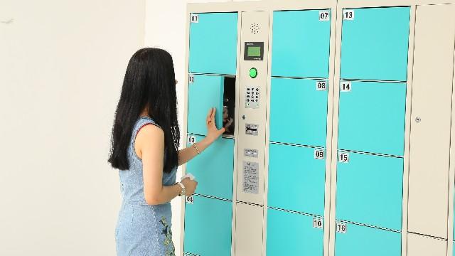 嘉易特分享几种不同类型的电子寄存柜使用方法!