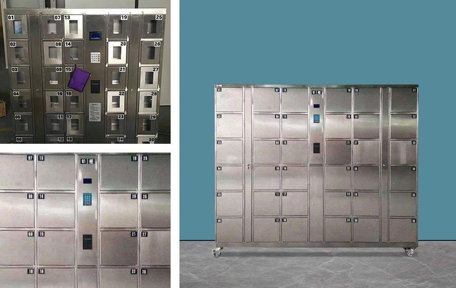 不锈钢智能储物柜定制厂家